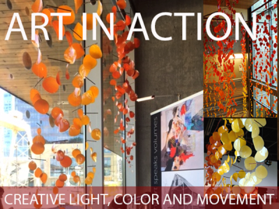 Art In Action Image for ongoing Geezer Gallery Exhibit
