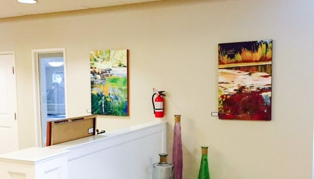 exhibition paintings
